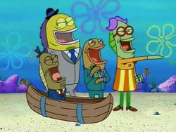 Spongebob one krabs trash man laughs hard stea.png