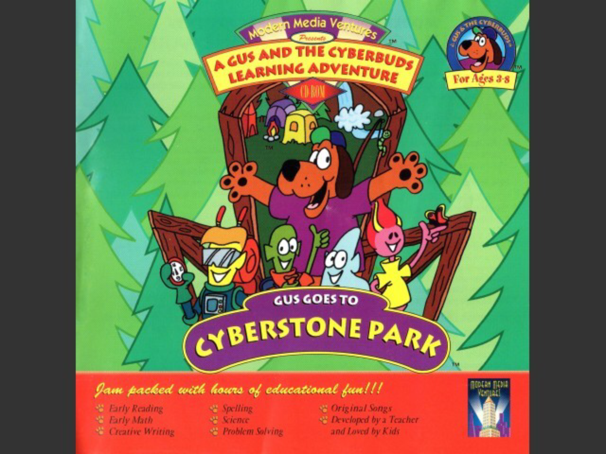 Gus Goes to Cyberstone Park