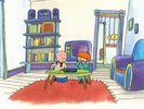 Caillou (Caillou Watches Rosie) Sound Ideas, BIRD, ROOSTER - MORNING CALL, ANIMAL 01