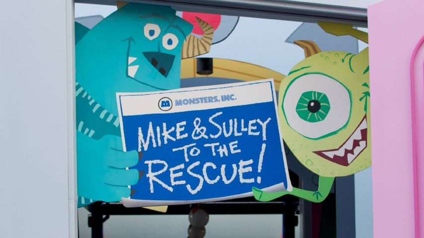 Monsters, Inc. Mike & Sulley to the Rescue! (Theme Park)