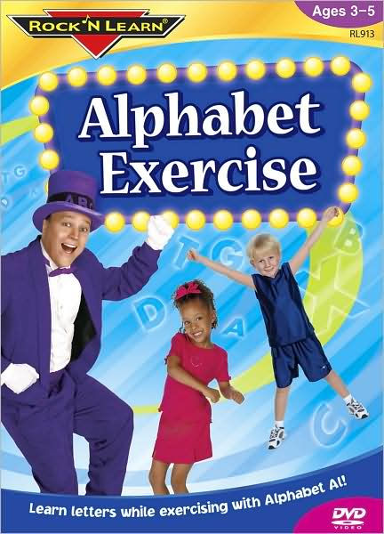 Rock 'N' Learn: Alphabet Exercise (2005) (Videos)