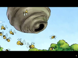 Hollywoodedge, Large Swarm Bees Mad CRT010101