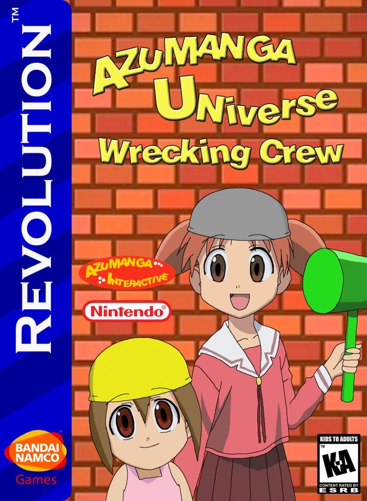 Azumanga Universe: Wrecking Crew
