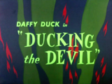 Ducking the Devil