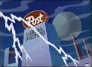 Post Cereals Ad- Scooby Doo THUNDER - BIG THUNDER CRACK AND RUMBLE, WEATHER 1
