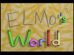 Elmo's World Opening Theme Song -HQ-