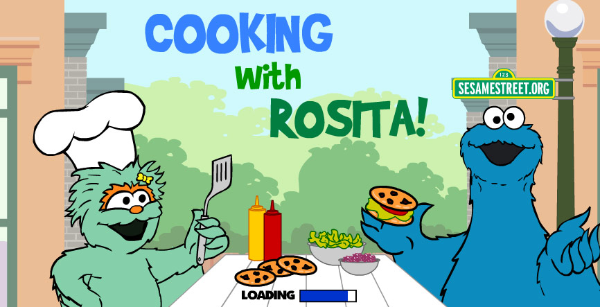 Sesame Street: Cooking With Rosita (Online Games)