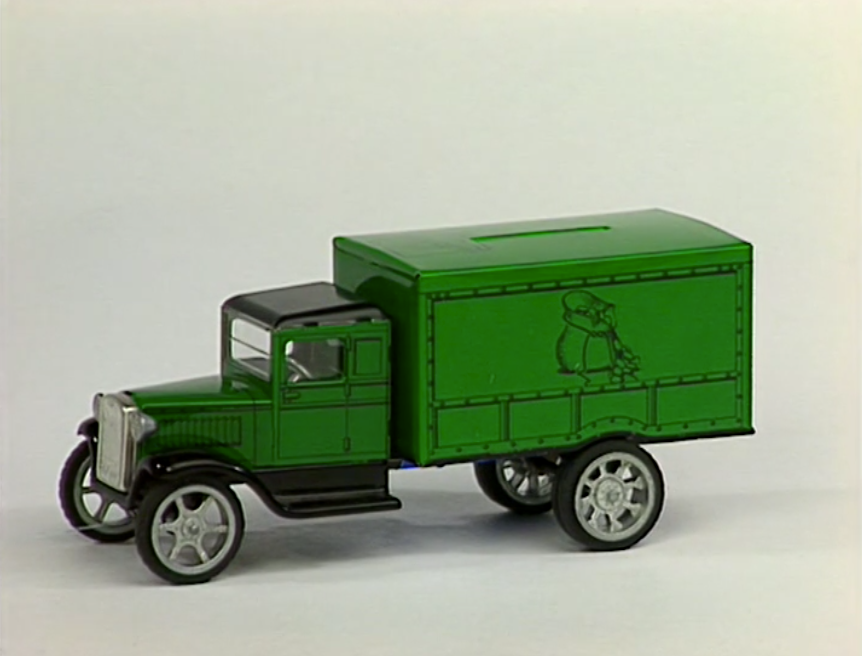 Sound Ideas, AUTO, '38 CHEVY COUPE - EXTERNAL: HORN, LONG BLAST, CLOSE UP, CHEVROLET, VINTAGE CAR