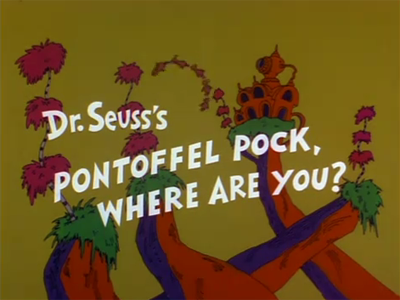 Pontoffel Pock, Where Are You? (1980)