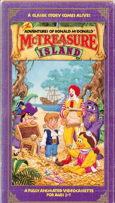 The Adventures of Ronald McDonald: McTreasure Island (1990)