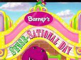 Barney - Barney's Sense-Sational Day (1997 video)