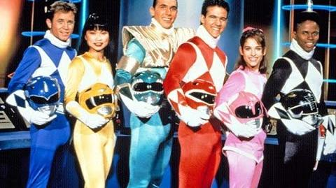 Mighty Morphin Power Rangers- File