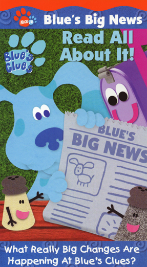 Blue's Clues - Blue's Big News: Read All About It! (2001) (Videos)