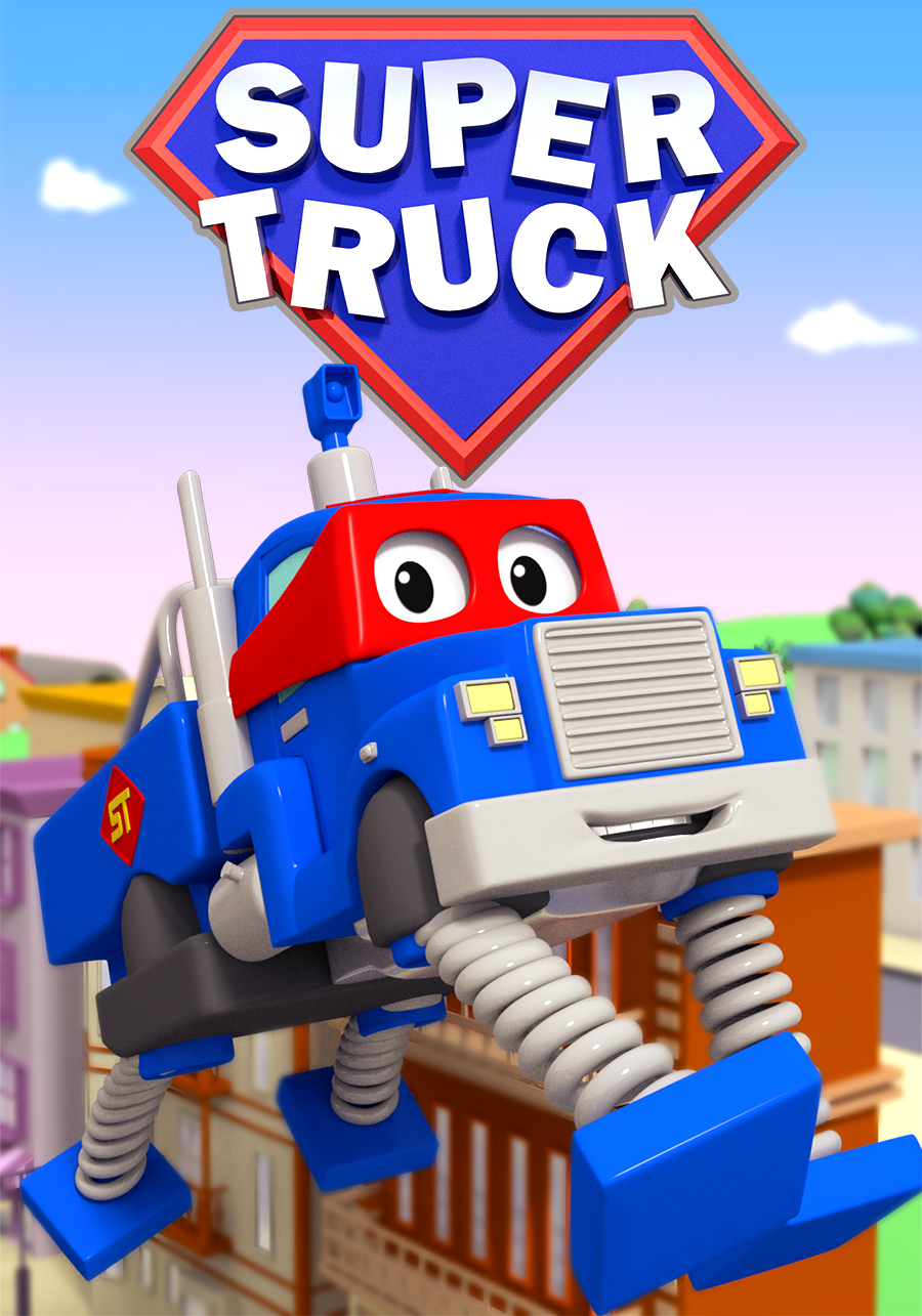 Carl the Super Truck of Car City