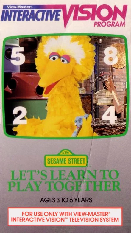 Sesame Street: Let's Learn to Play Together
