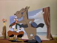 Saludos Amigos El Gaucho Goofy Disney Big Kiss Sound