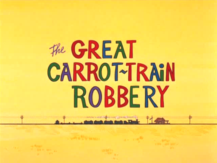 The Great Carrot-Train Robbery (1969 Short)