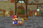 Goombella kisses Mario (part 1)
