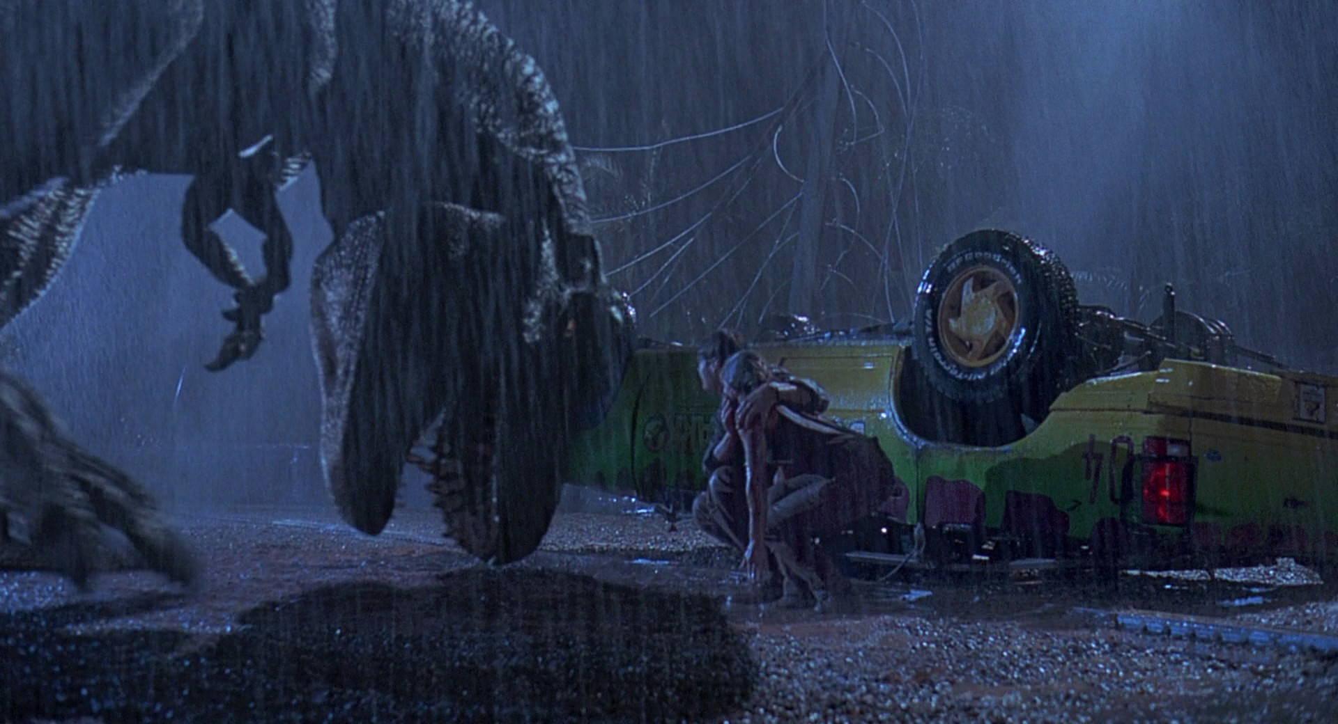 Jurassic Park, T-Rex - Exclamation Roar