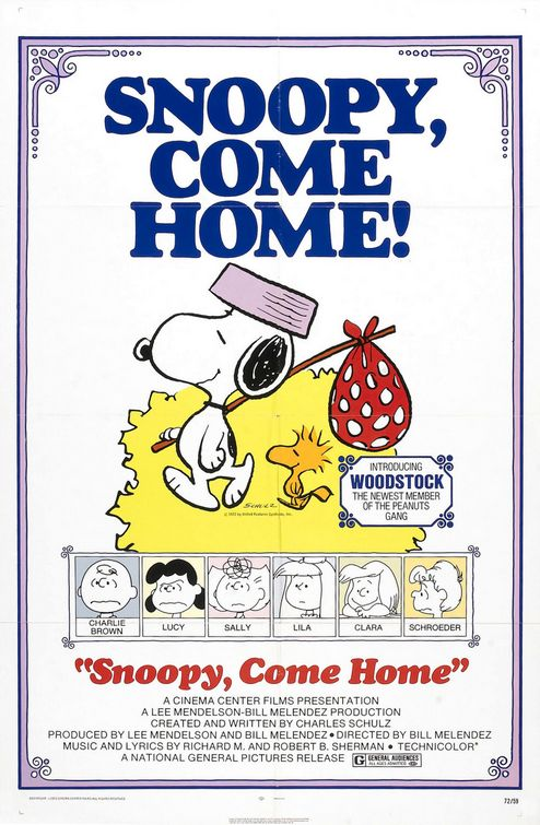 Snoopy, Come Home (1972)