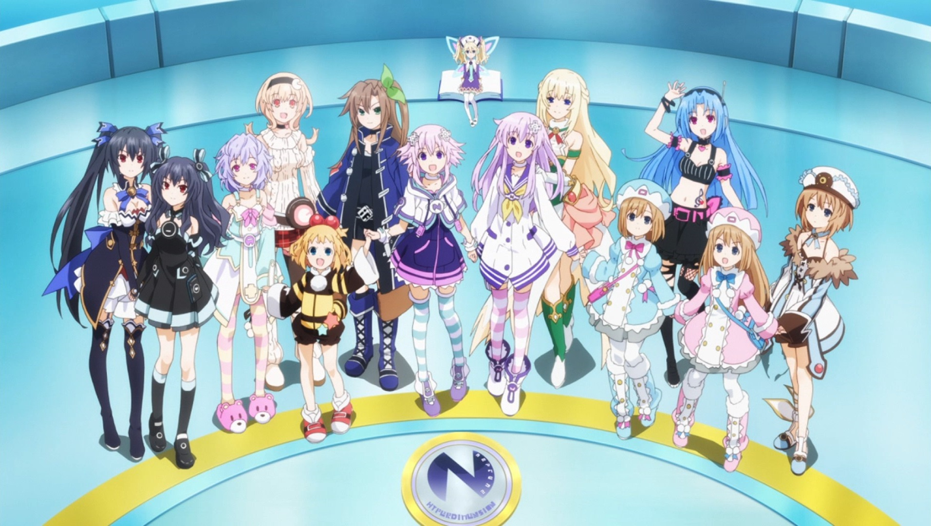 Hyperdimension Neptunia: The Animation