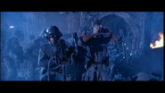 Terminator 2 Judgement Day SKYWALKER, EXPLOSION - AT-AT STOMP