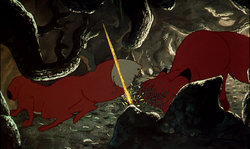 The Fox and the Hound RICOCHET - RICCO AND WHINE, 05.png