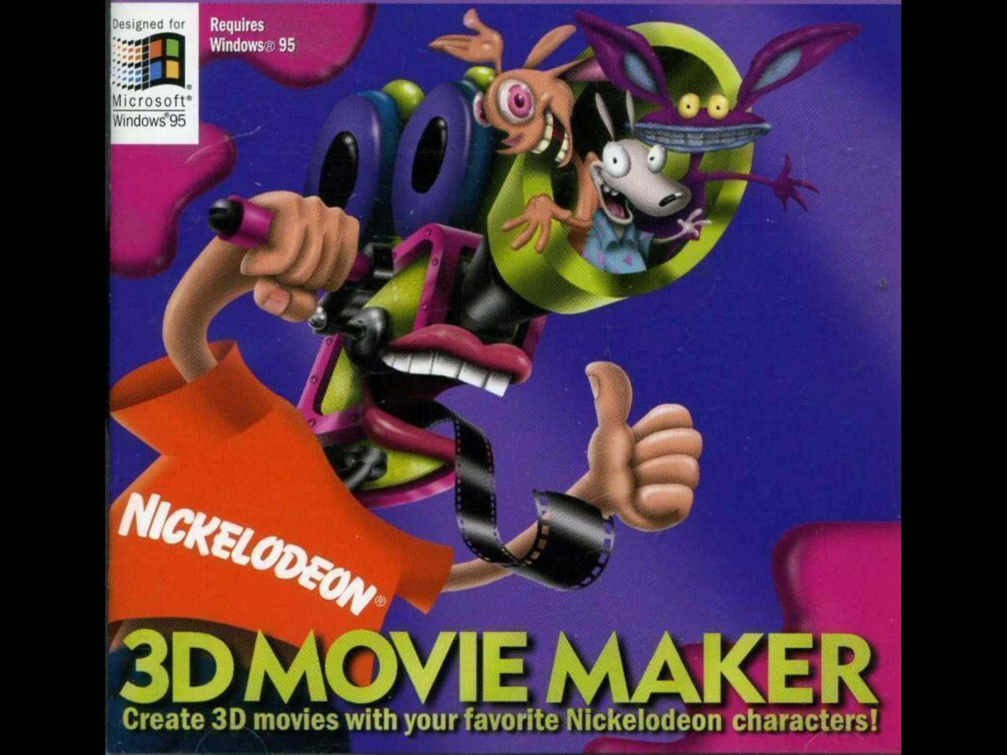 Microsoft Nickelodeon 3D Movie Maker