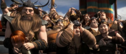 How To Train Your Dragon 2 TV Spot Crowd Reaction Shock.png