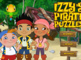 Jake and the Never Land Pirates: Izzy's Pirate Puzzles (Online Games)