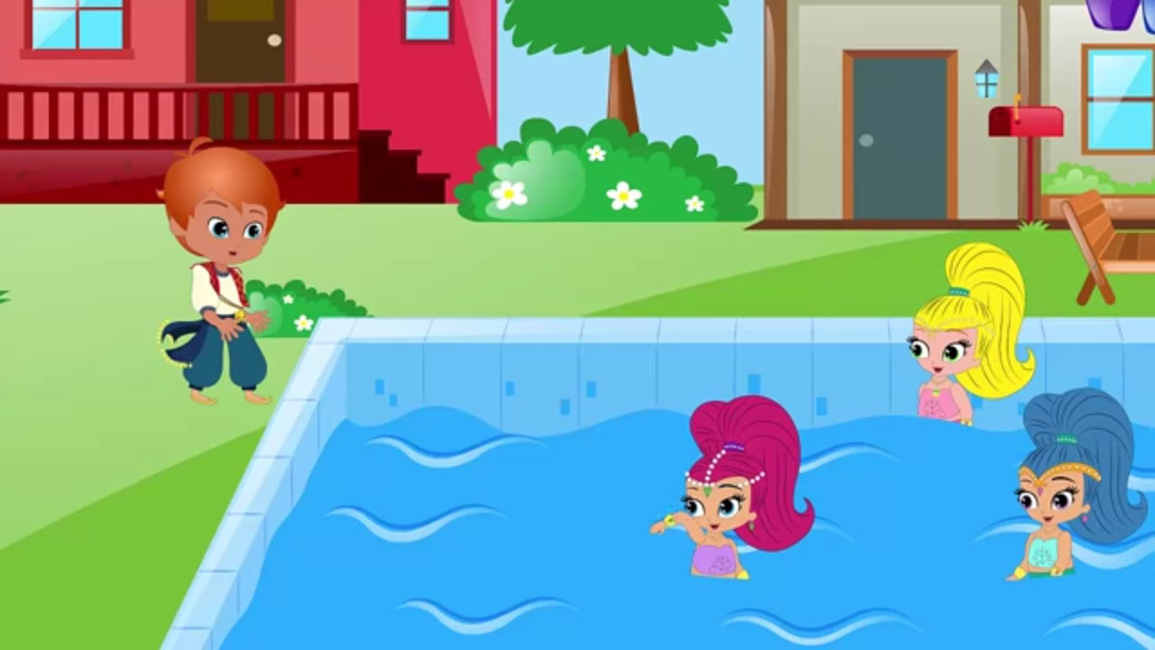 Shimmer and Shine Funny Story Series