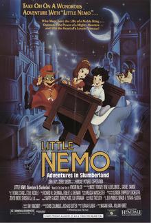 Little Nemo Adventures In Slumberland (1992) Poster V2.png