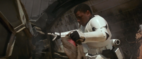 Star Wars - Episode VII - The Force Awakens (2015) SKYWALKER CAR CRUSHING SLOWLY WITH METAL SQUEAKING