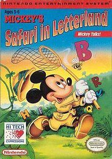 Mickey's Safari in Letterland (1993) (Video Game)