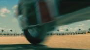 Bolt (2008) SKYWALKER, CAR - BROKEN TIRE SKID (processed, low volume)