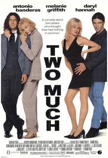 Two Much (1996) Theatrical Poster.png