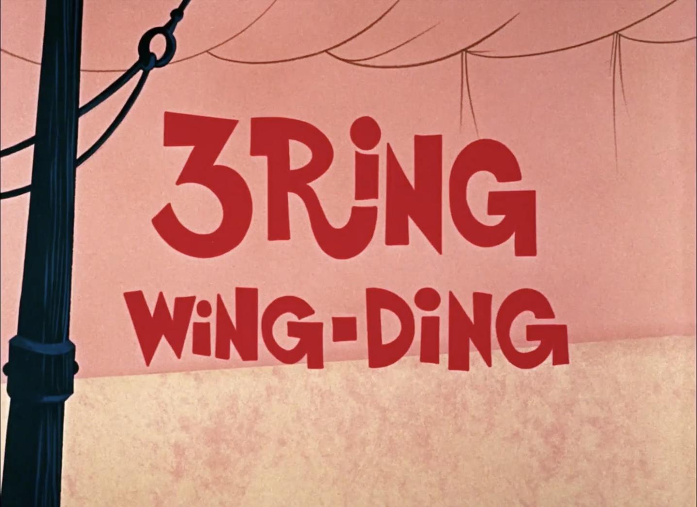 3 Ring Wing Ding (1968) (Short)