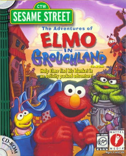 The Adventures of Elmo in Grouchland (1999) (PC Game)
