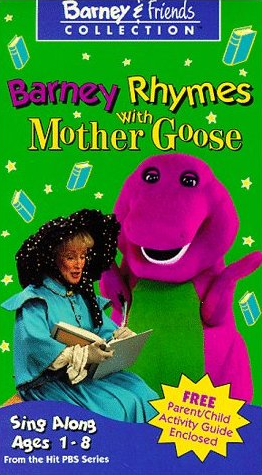 Barney Rhymes with Mother Goose (1993 video)