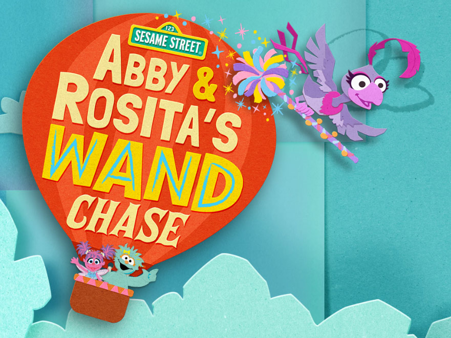 Sesame Street: Abby & Rosita's Wand Chase (Online Games)