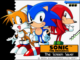Sonic the Hedgehog: The Screen Saver