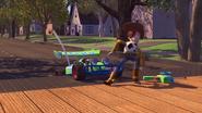Toy Story (1995) SKYWALKER, HORN - RC CAR HONKING