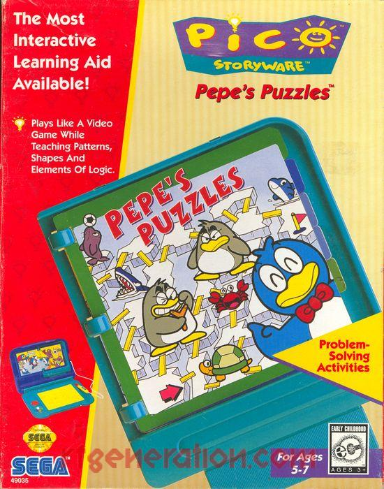 Pepe's Puzzles (Video Game)