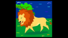 Animal Video for Kids LION SINGLE GROWL