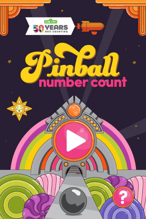 Sesame Street: Pinball Number Count (Online Games)