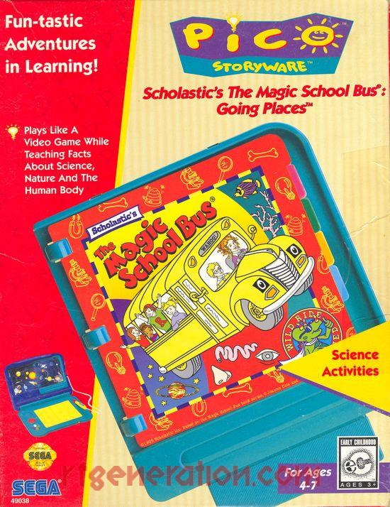 Scholastic's The Magic School Bus: Going Places (Video Game)