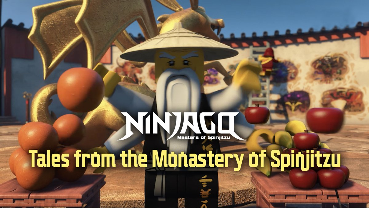 Lego Ninjago: Tales from Monastery of Spinjitzu (2019)