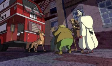 Hollywoodedge, Dog Large Angry Barks PE023801