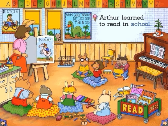 Living Books: Arthur's Reading Race