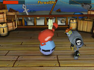 SpongeBob SquarePants Battle for Bikini Bottom (2003) (PC Game) Sound Ideas, BELL, FIGHT - BOXING RING FIGHT BELL SINGLE RING, SPORTS